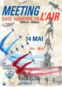 Affiche-Meeting-de-lAir-de-Bordeaux-Mérignac-2017