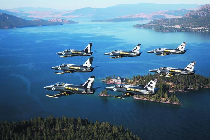 Breitling Jet Team - Cascades - Montana - American Tour