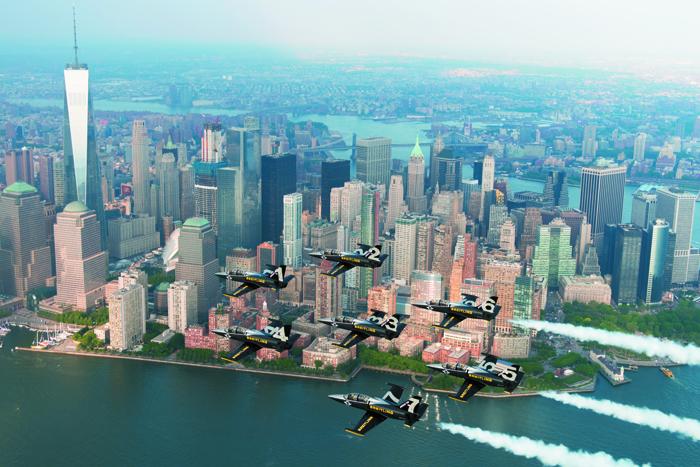 Le survol de l'Hudson : un moment inoubliable pour l'équipe du BJT