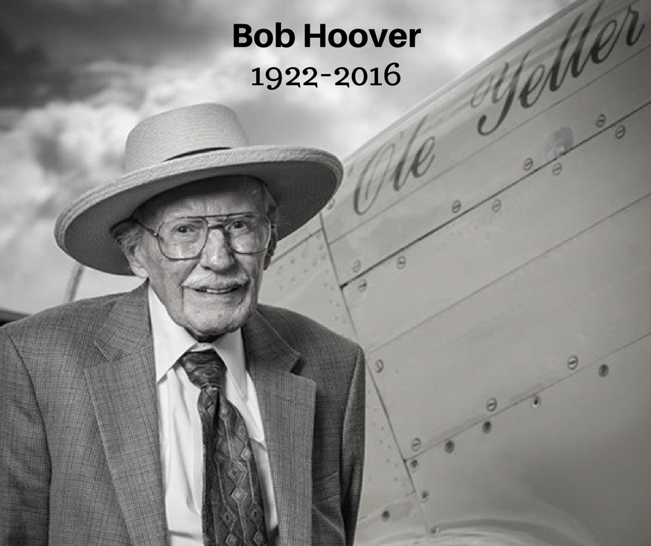 Le monde du spectacle aérien pleure Bob Hoover