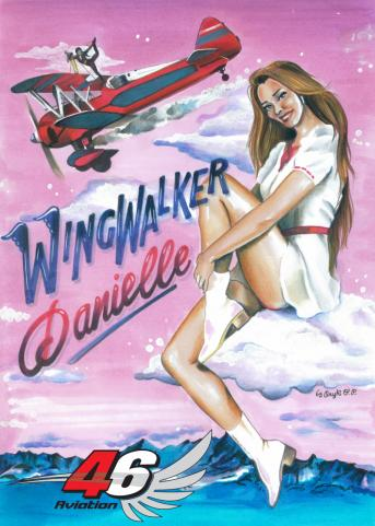 46 Aviation - Wingwalker Danielle Hughes