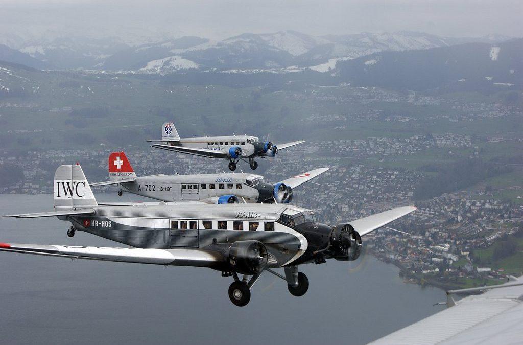 Les JU 52 Suisses cloués au sol