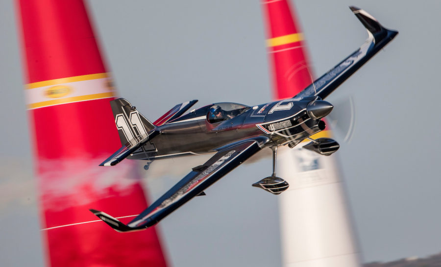 Mikaël Brageot remporte la 4ème place de la Red Bull Air Race 2018…