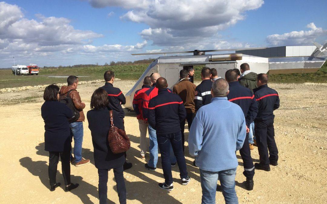 Une formation incendie indispensable pour les bénévoles des meetings aériens