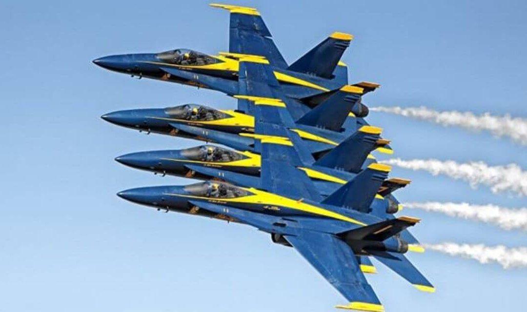 Les Blue Angels volent pour la dernière fois sur le F/A 18 Legacy Hornet ce mercredi 4 novembre