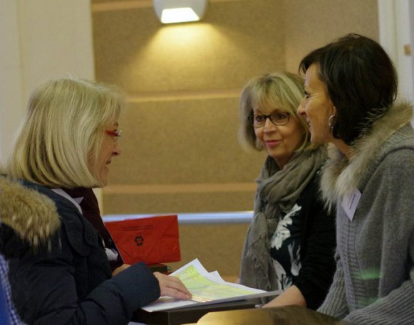 Accueil:  Valérie, Cathie et Marie