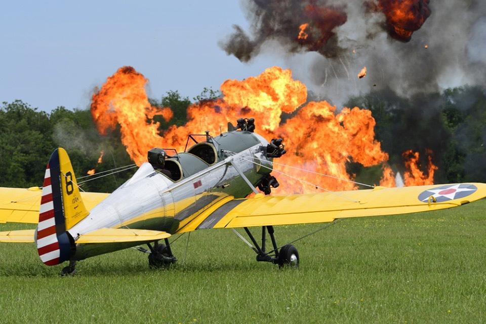 Triste dimanche pour l'aviation de collection et le monde des meetings !
