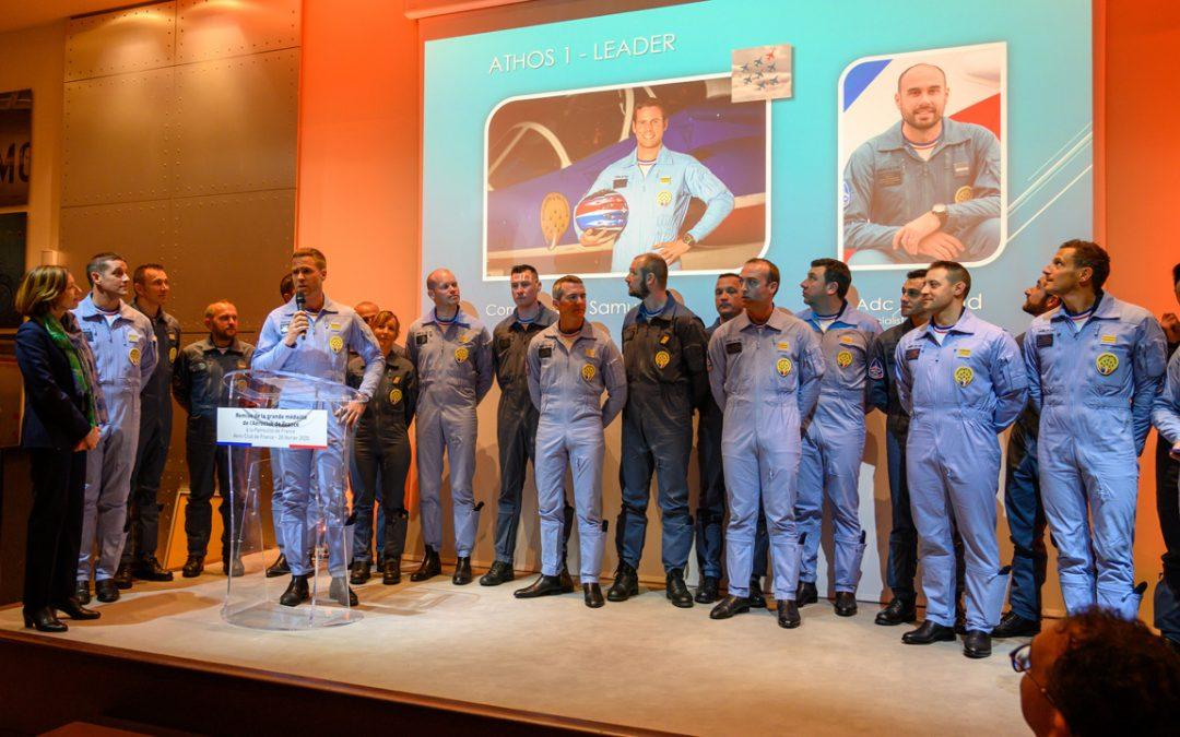 L'Aéro-Club de France honore La Patrouille de France