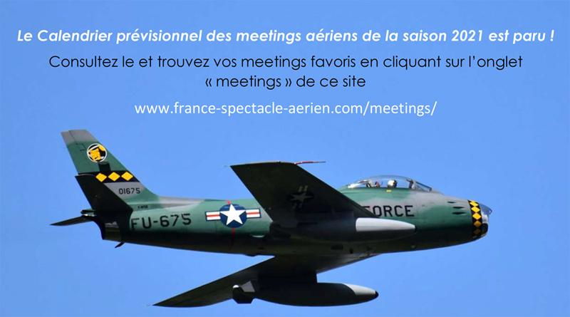 Meetings aériens 2021… un calendrier en perpétuelle évolution ! Etat des lieux…